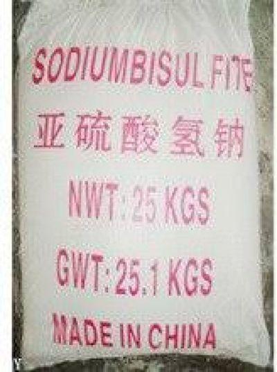 SODIUM BISULFITE NaHSO3 - NATRI BISUNPHIT